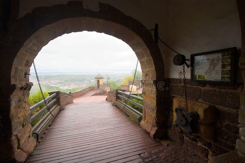 Passagem do castelo fotos de stock