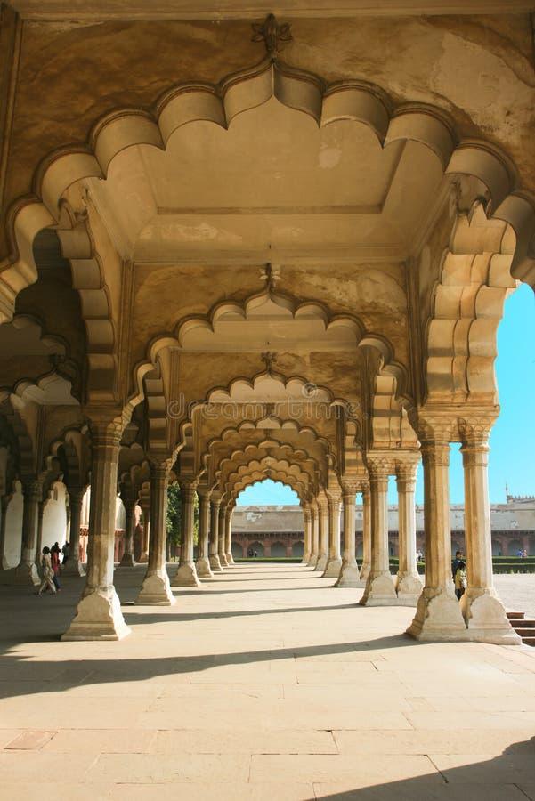 Passagem do forte de Agra fotos de stock royalty free