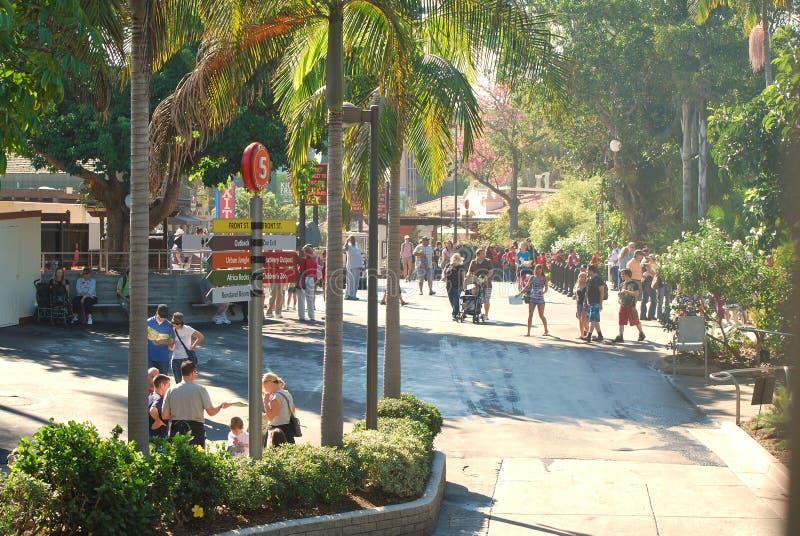 A passagem do jardim zoológico de San Diego fotografia de stock royalty free