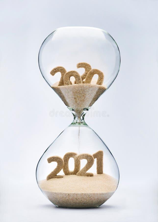 Passagem no ano novo 2021 fotos de stock