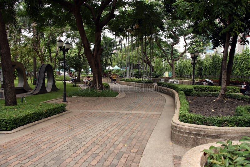 Passagem no parque fotos de stock royalty free