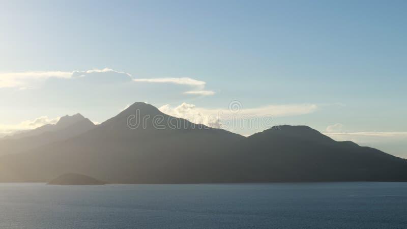 A passagem obscura de Hai Van imagens de stock