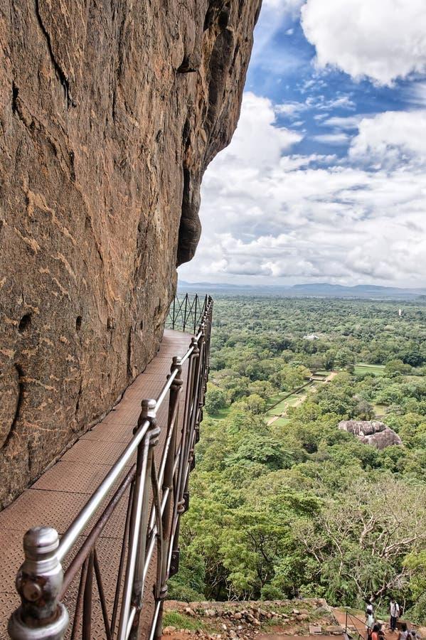 Passagem, Sigiriya, Sri Lanka imagens de stock royalty free