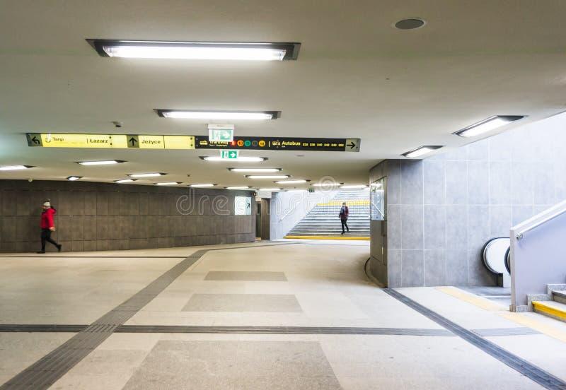 Passagem subterrânea de Kaponiera fotos de stock