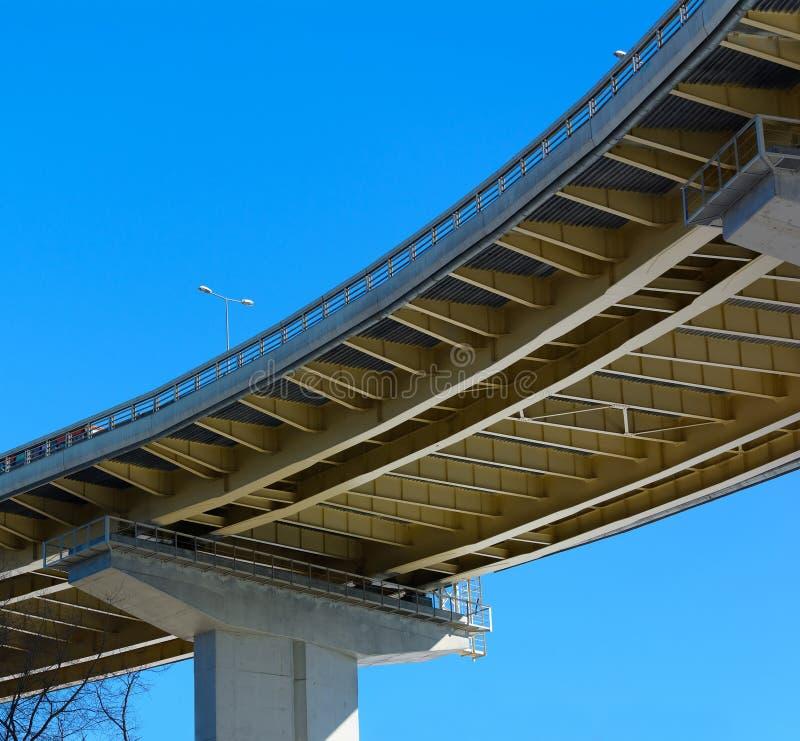 Passagem superior da ponte foto de stock