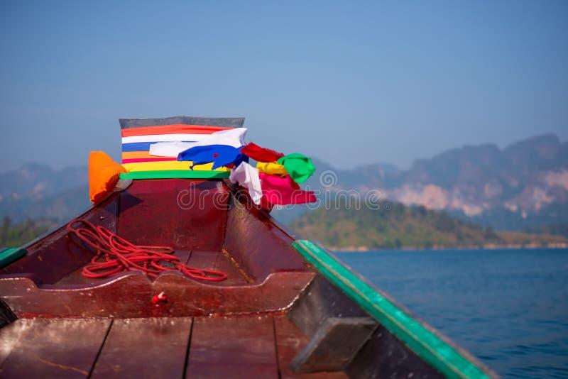 Passagerarefartyg seglar i havet royaltyfria bilder