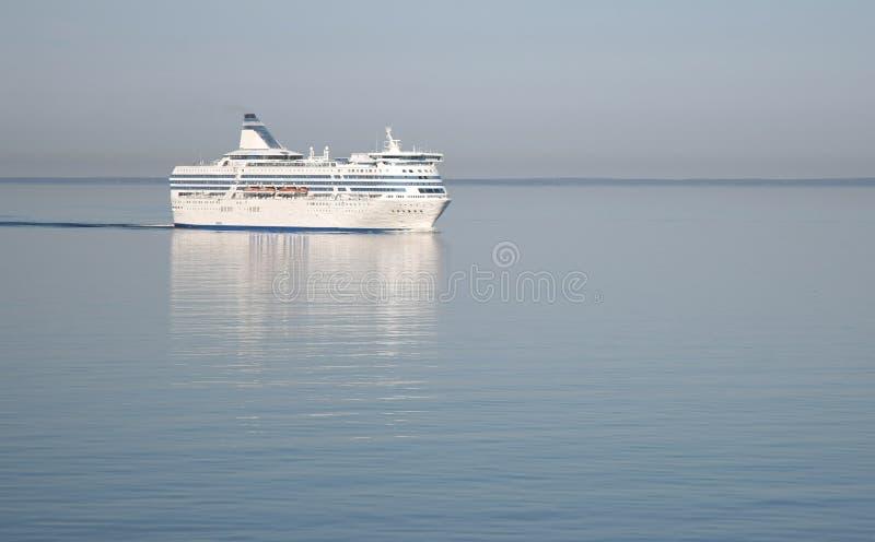 Passagerarekryssningfärja royaltyfri bild