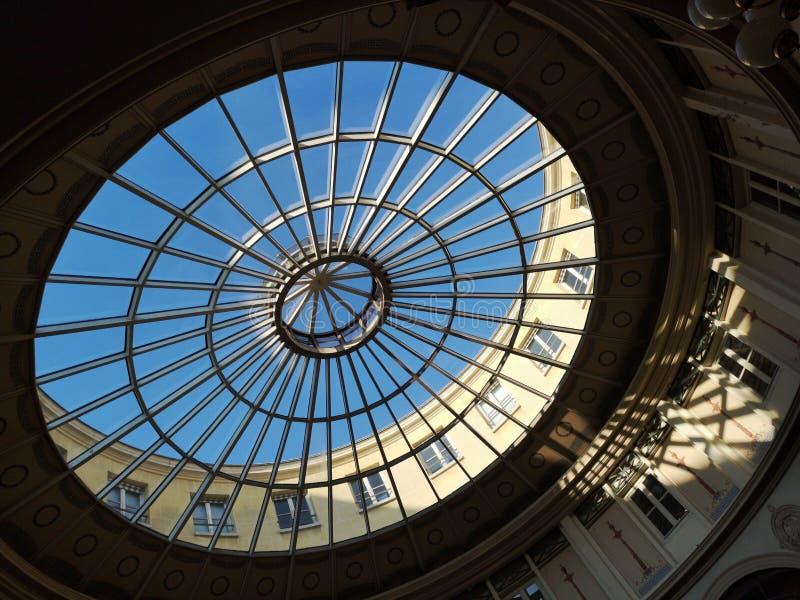 Passages couverts de Paris, France Passage Colbert photo stock
