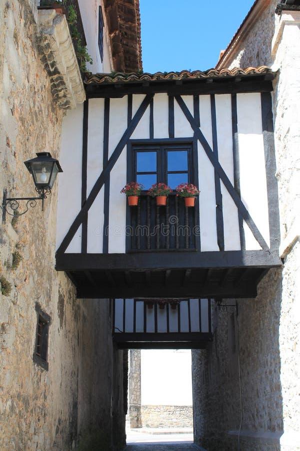 Passages, Llanes, Spanje royalty-vrije stock foto