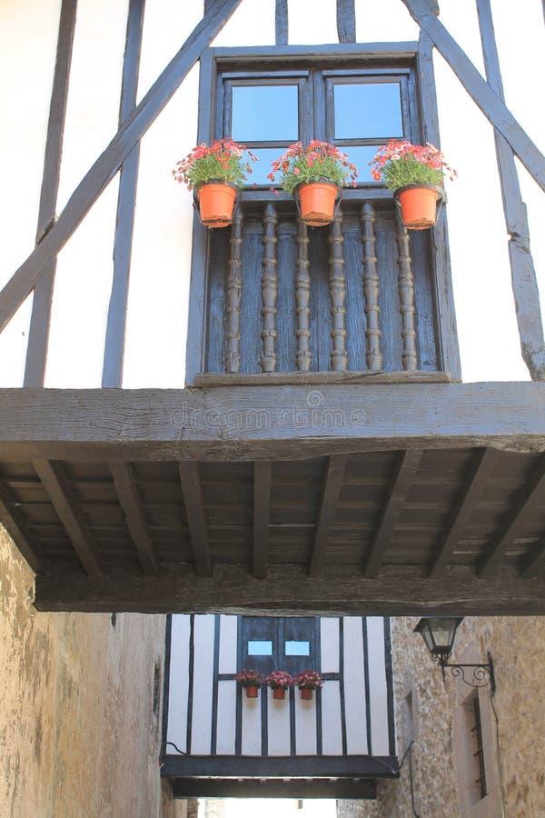 Passages, Llanes, Spanje stock afbeelding
