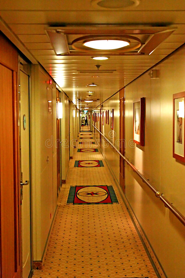 Passageway stock photo