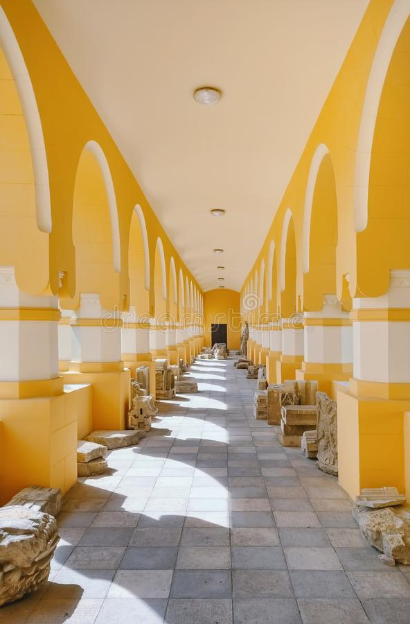Free Passageway In Coronation Cathedral Royalty Free Stock Photo - 155417275