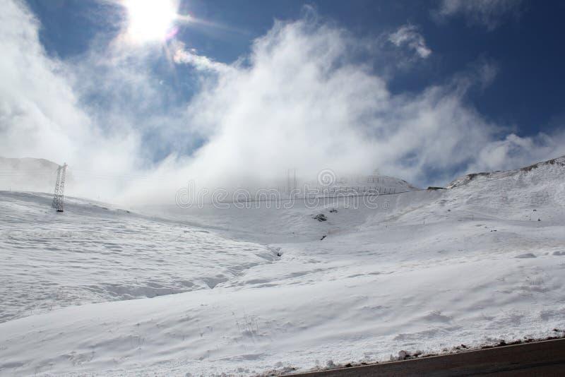Passaggi alpini italiani immagine stock