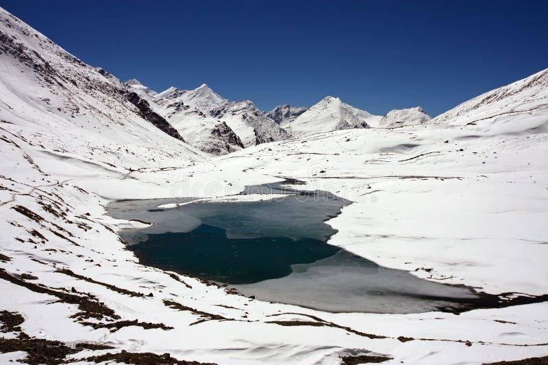 passaggio della Shingo-La, Zanskar immagine stock libera da diritti