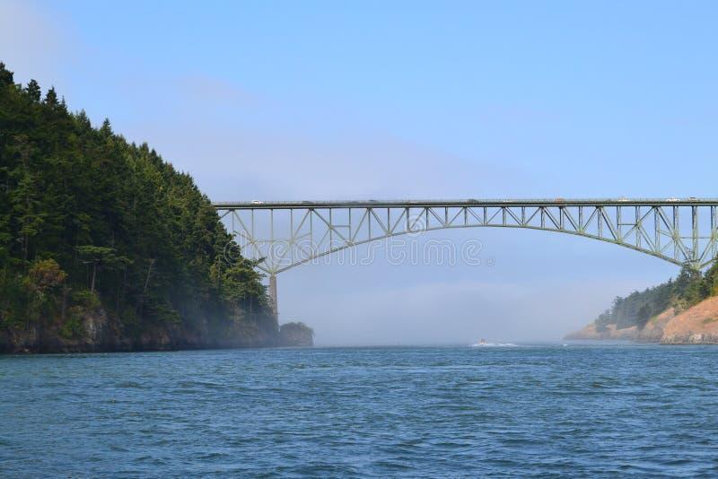 Passaggio di inganno, Washington State fotografie stock libere da diritti