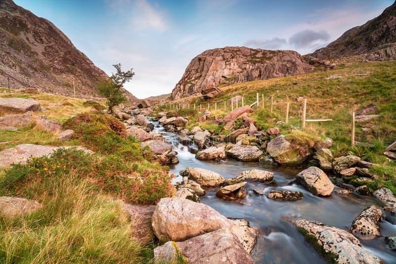 Passaggio di Llanberis in Snowdonia immagine stock libera da diritti