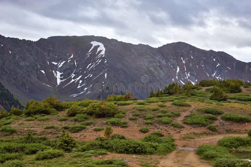 Passaggio di Loveland, Colorado immagini stock libere da diritti