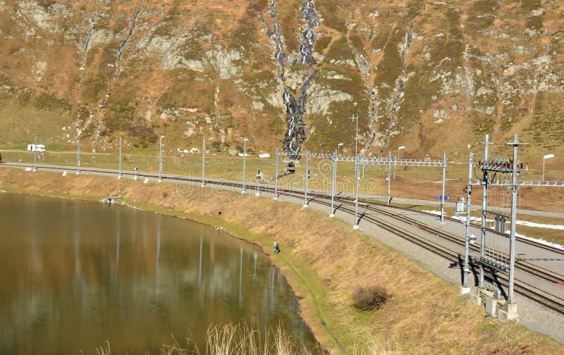 Passaggio di Oberalp fotografie stock