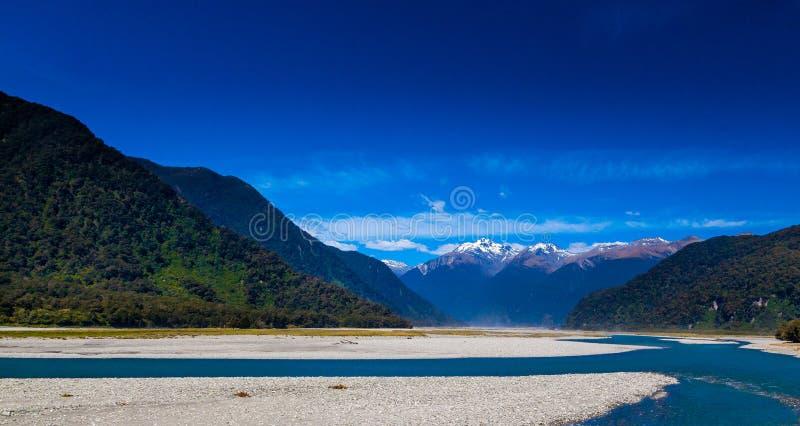 Passaggio Nuova Zelanda di Haast fotografie stock libere da diritti