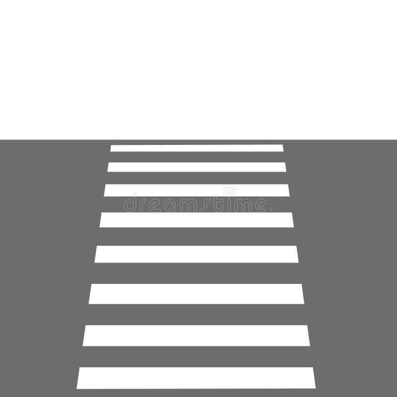 Passaggio pedonale illustrazione di stock