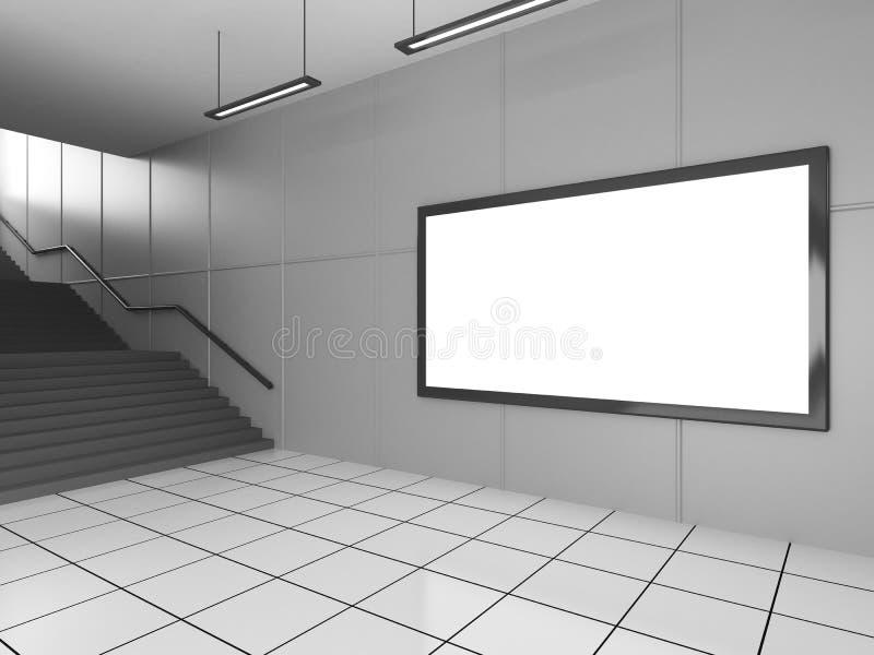 Passaggio sotterraneo illustrazione di stock