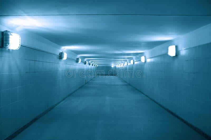 Passaggio sotterraneo fotografia stock libera da diritti