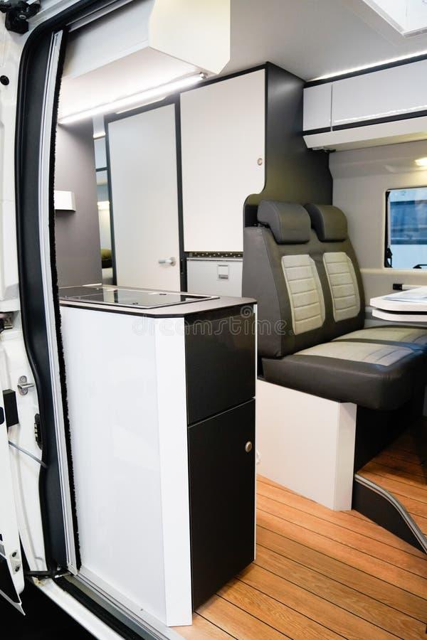 Passagiersstoel voor het interieur van het voertuig royalty-vrije stock foto's
