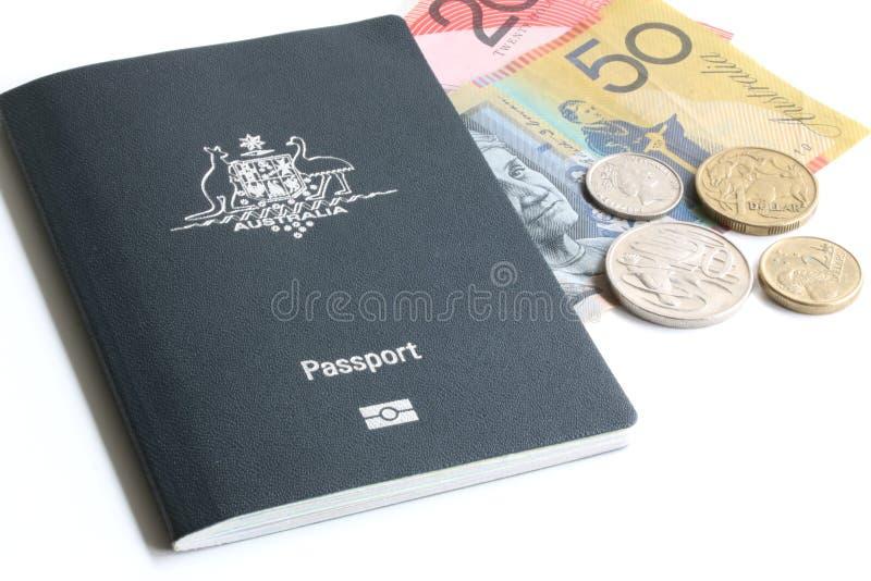 Passaporte australiano foto de stock royalty free