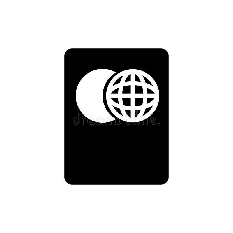Passaporte do curso isolado ilustração stock