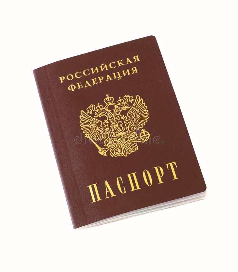Passaporte do russo imagens de stock