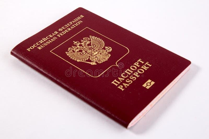 Passaporte do russo fotografia de stock