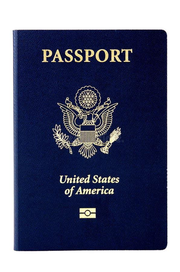 Passaporte dos E.U. fotos de stock royalty free