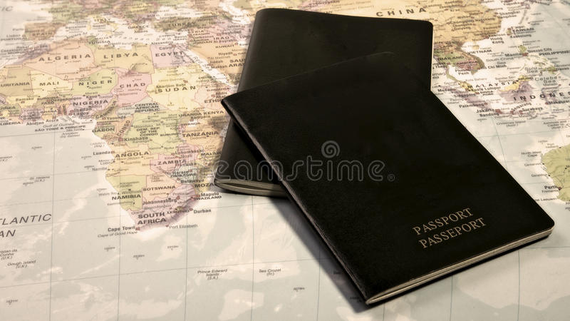 Passaporto immagine stock