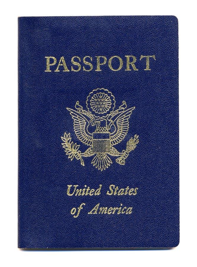 Passaporto americano fotografia stock libera da diritti