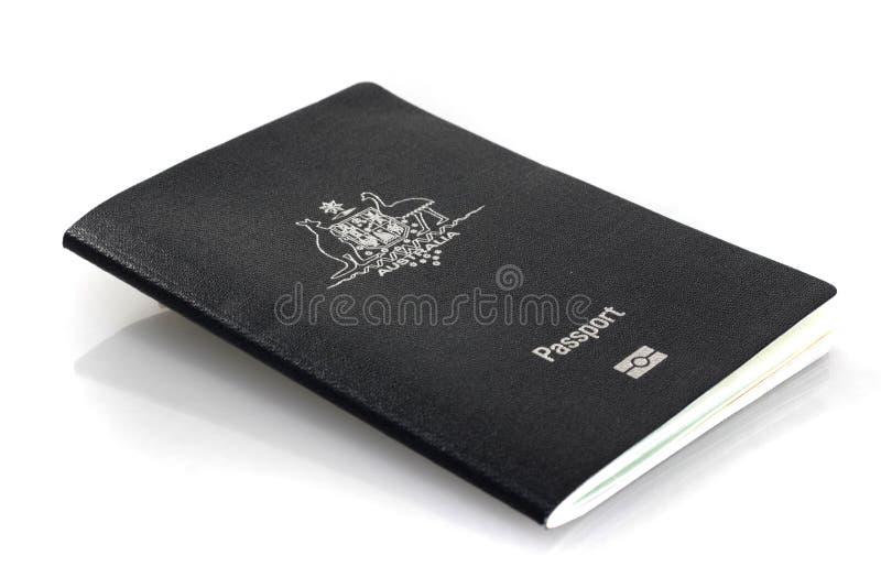Passaporto australiano corrente fotografia stock libera da diritti
