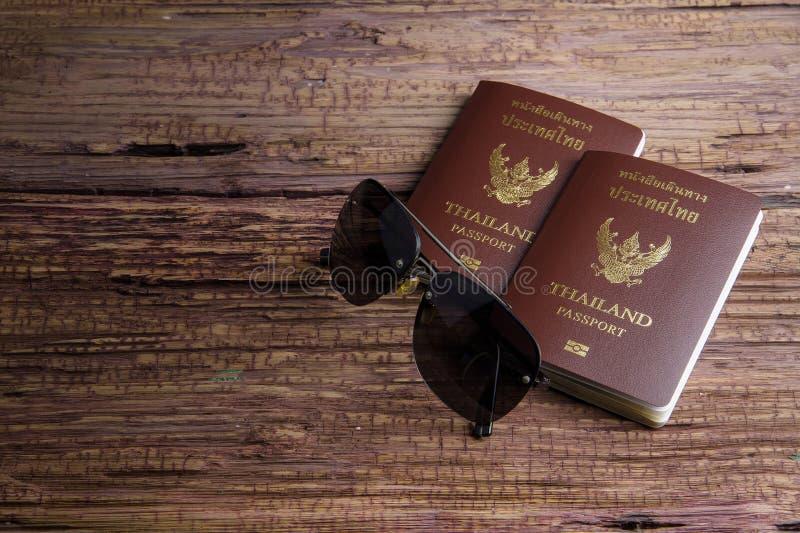 Passaporto che un documento ufficiale ha pubblicato da un governo, c della Tailandia immagini stock