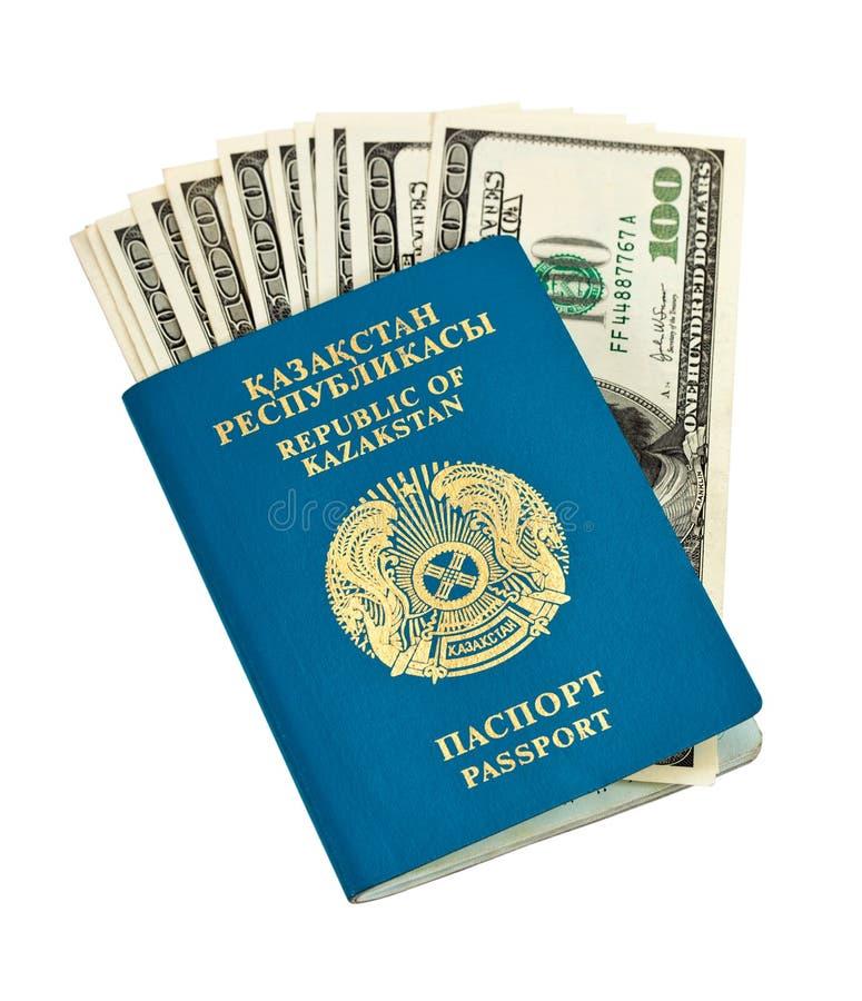 Passaporto del Kazakhstan immagine stock