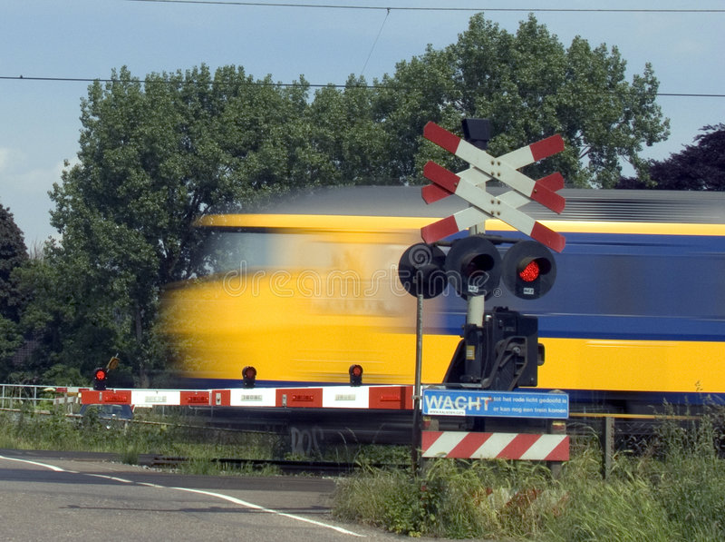 Passare treno 1 fotografie stock