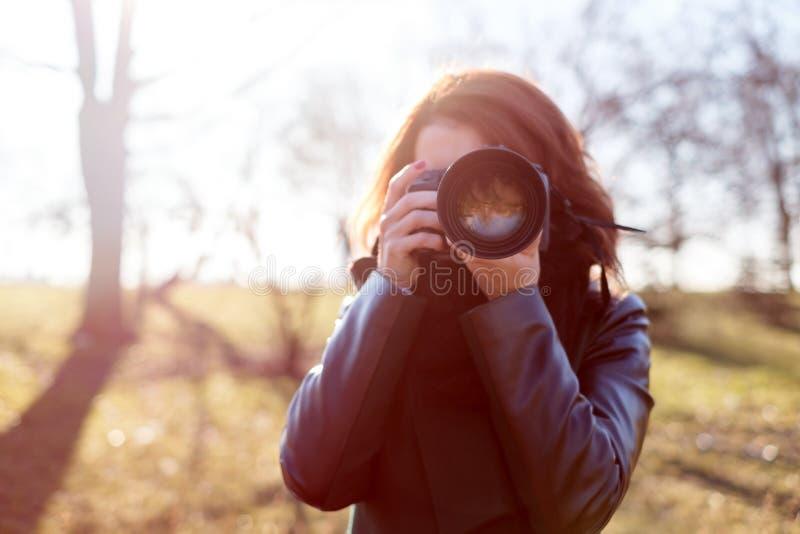 Passatempo para fazer fotos fotografia de stock royalty free