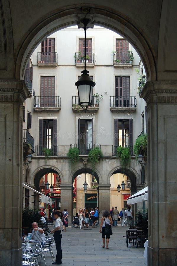 Passatge Madoz - Barcelona fotografía de archivo libre de regalías