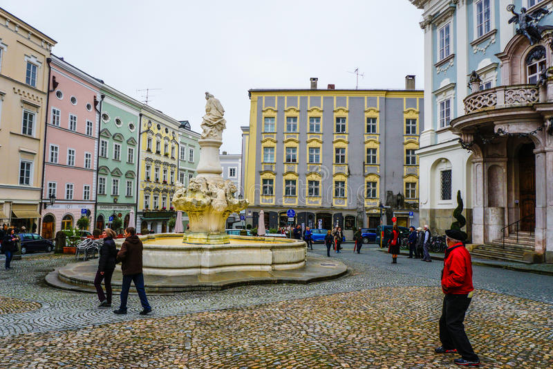 Passau,德国 免版税库存照片