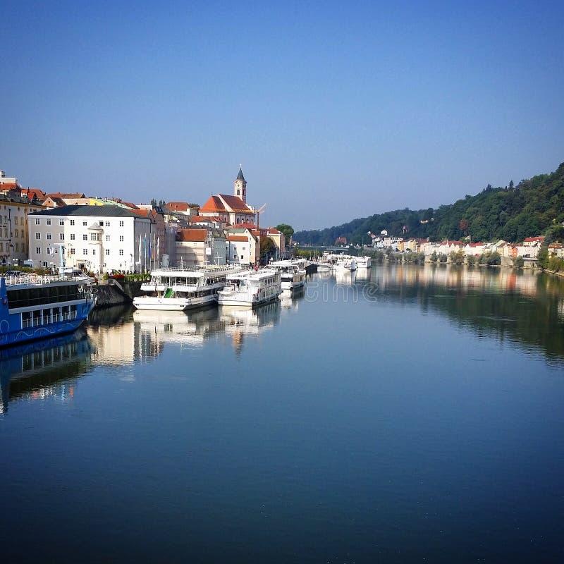 Passau royalty-vrije stock afbeelding