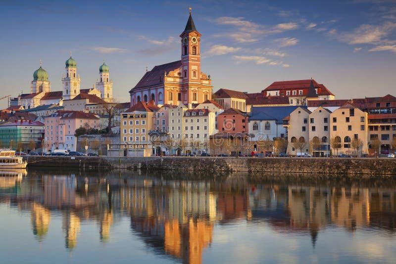 Passau stockfotografie