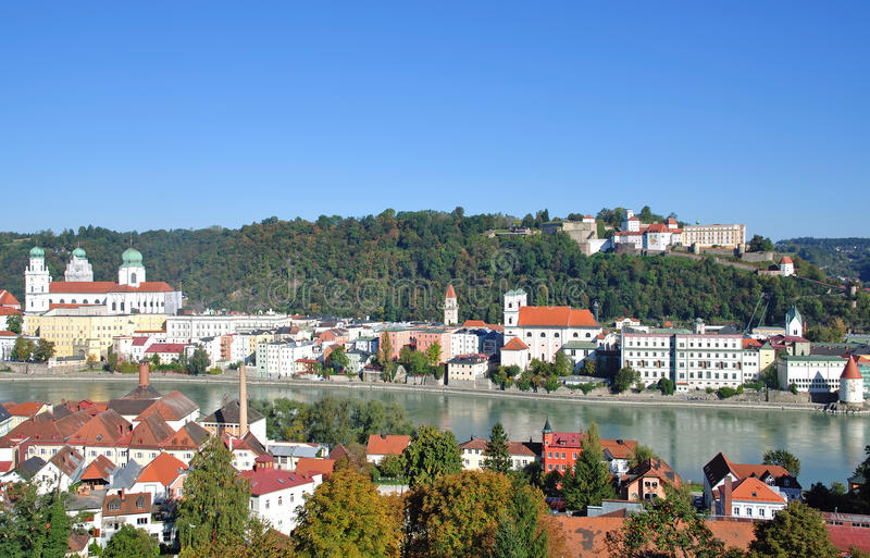 Download Passau in bavaria stock photo. Image of forest, points - 22275544