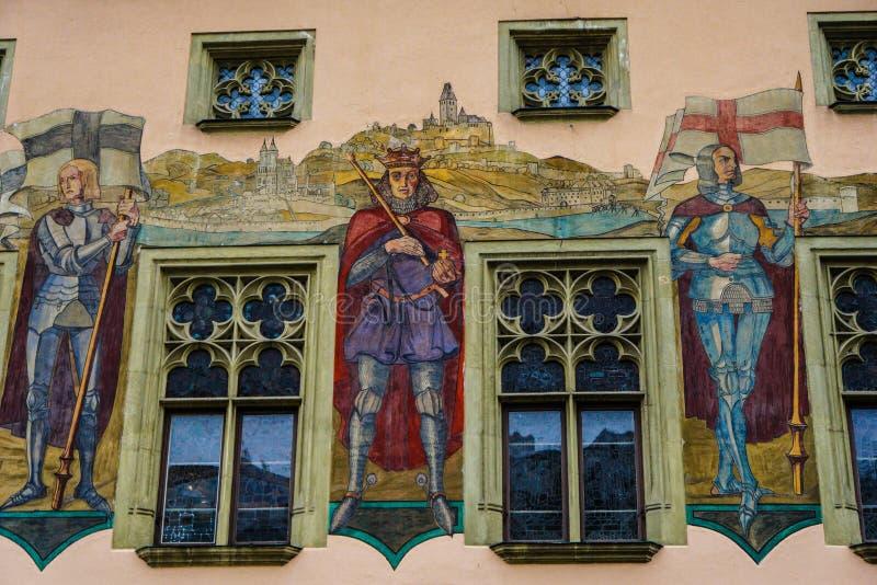 Passau, Deutschland lizenzfreies stockbild
