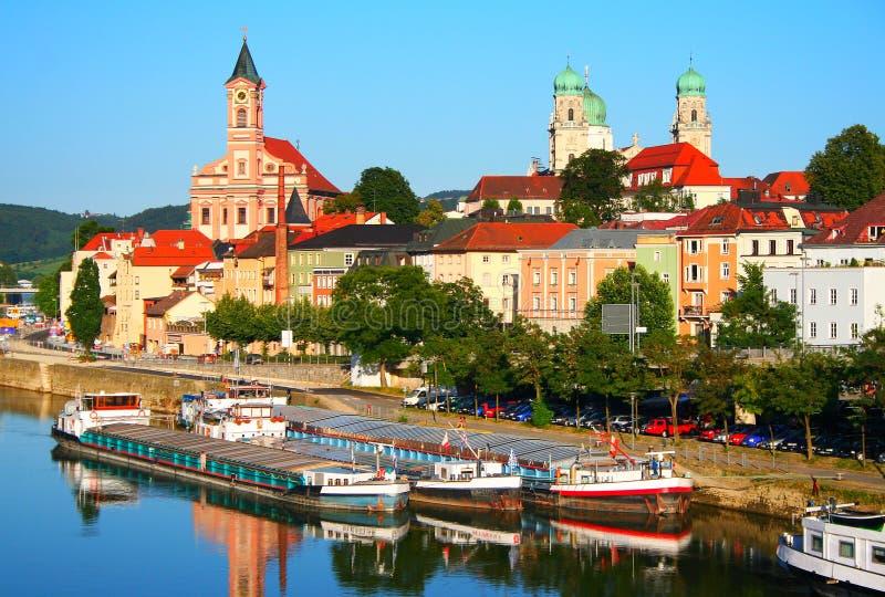 Passau i Tyskland royaltyfri foto