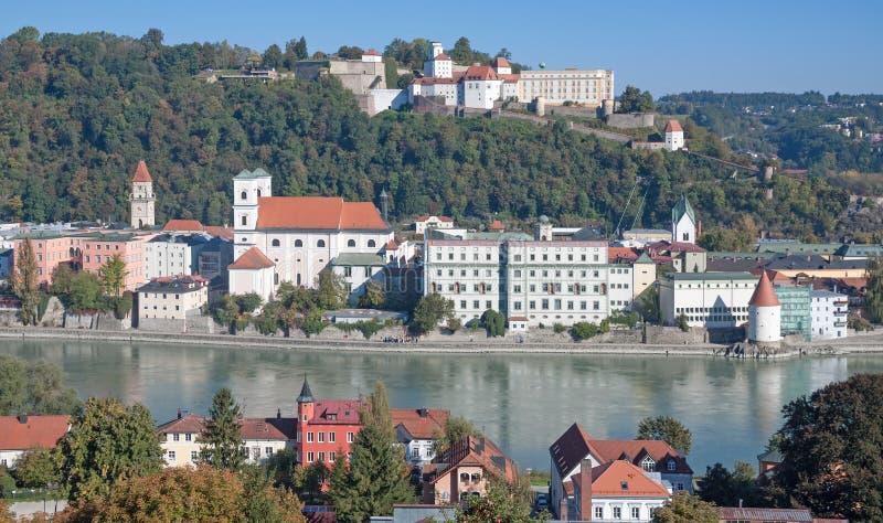 Passavia, Baviera, Germania immagine stock