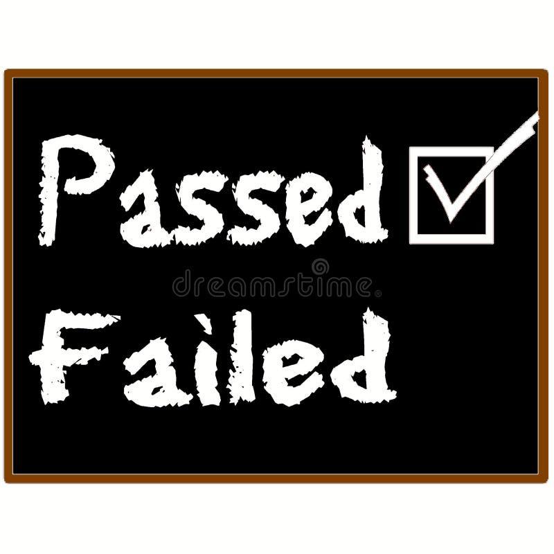 Passed Exam Grade Stock Photos