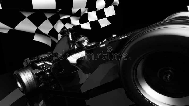 Download Passed the finish line stock illustration. Image of circuit - 7825704