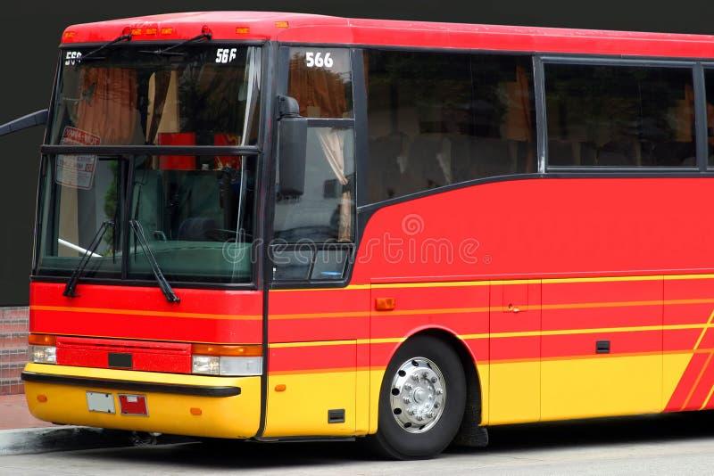 Passeggero attendente del bus fotografia stock